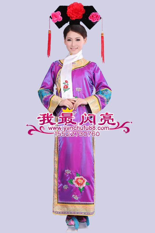 后宫嫔妃服饰手绘图片